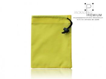 กระเป๋าหูรูด โรงงานกระเป๋าหูรูดสีเหลือง