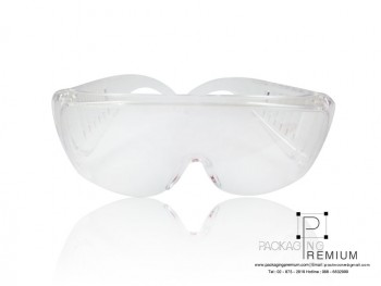 แว่นตากันน้ำ สงกรานต์ สีใส ขายส่ง (ตัวใส)