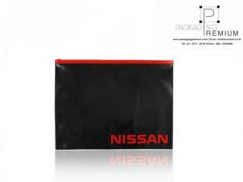 ซองซิปรูด PVC ขนาด A4 NISSAN