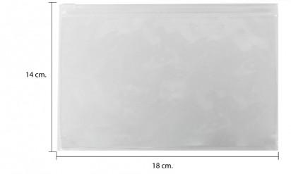 ซองซิปใส่ พาสปร์อต ขายส่ง พลาสติกใส ขนาด 14 x 19 cm.
